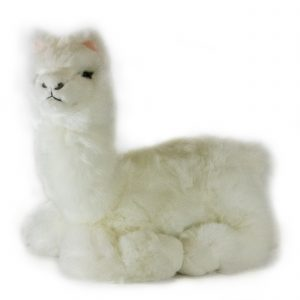 Bocchetta Alpaca-Alfredo -Realistic Stuffed Animal Soft Plush Toy