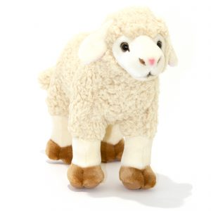 Bocchetta-Barbarella-Standing Sheep Lamb Stuffed Animal Soft Plush Toy