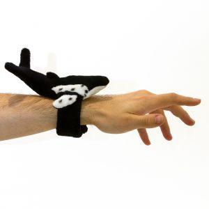 Bocchetta-Humpback Whale Snapband Stuffed Animal Soft Plush Toy