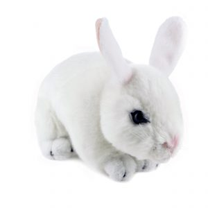 Bocchetta-Cotton-Rabbit Realistic Stuffed Animal Soft Plush Toy