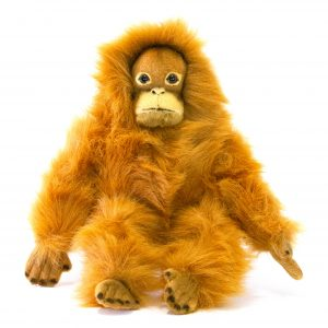 Bocchetta-Cha-Orangutan Realistic Stuffed Animal Soft Plush Toy
