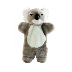 Bocchetta-Kimmy Hand Puppet Koala Stuffed Animal Soft Plush Toy