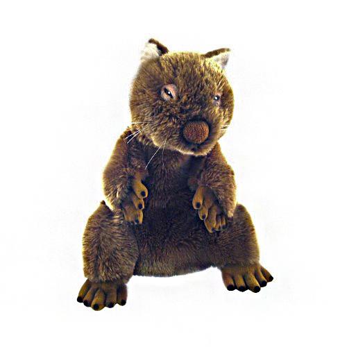 Bocchetta-Dozey Hand Puppet Wombat Stuffed Animal Soft Plush Toy