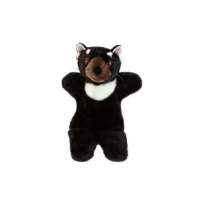 Bocchetta Tiggy Hand Puppet Tasmania Devil Stuffed Animal Soft Plush Toy, 27 cm Height