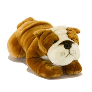 Bocchetta-Brutus-Bulldog Stuffed Animal Soft Plush Toy