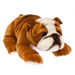 Bocchetta-Boston-Bulldog Realistic Stuffed Animal Soft Plush Toy