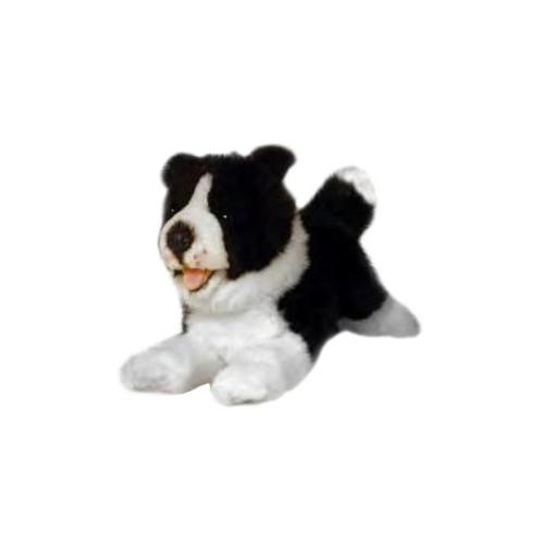 Bocchetta Patch Border Collie Stuffed Animal Soft Plush Toy, 29 cm Height