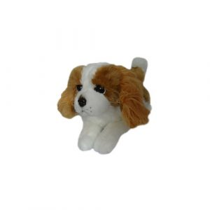 Bocchetta Phoebe Cavalier King Charles Spaniel Puppy Stuffed Animal Soft Plush Toy, 28 cm Height, Brown