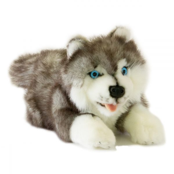 Bocchetta Marbles Husky (Puppy) Stuffed Animal Soft Plush Toy