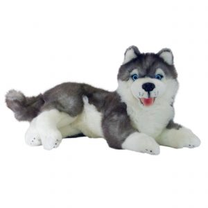 Bocchetta-Madison Husky Stuffed Animal Soft Plush Toy