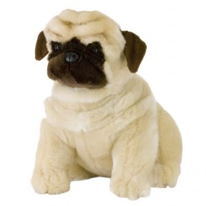 Bocchetta-Carlotta-Pug Stuffed Animal Soft Plush Toy