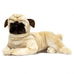 Bocchetta-Kaos Pug Stuffed Animal Soft Plush Toy