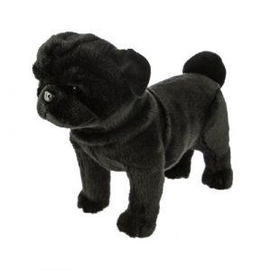 Bocchetta-Midnight Pug Stuffed Animal Soft Plush Toy