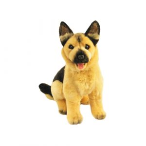 German Shepherd plush toy, stuffed animal, Size 24cm/9.5