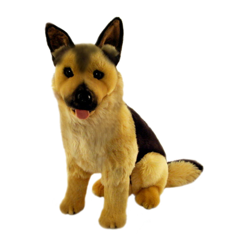 Bocchetta-Major German Shepherd Stuffed Animal Soft Plush Toy