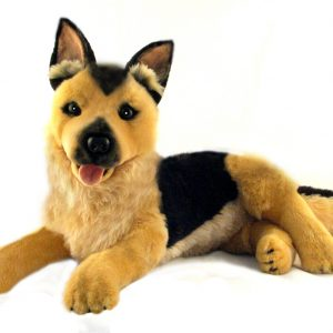 Bocchetta-King German Shepherd Stuffed Animal Soft Plush Toy