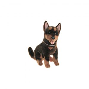 Bocchetta Quinn Australian Kelpie Puppy Stuffed Animal Soft Plush Toy, 21 cm Height