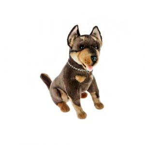 Bocchetta-Basil Cannon Australian Kelpie Dog Stuffed Animal Soft Plush Toy