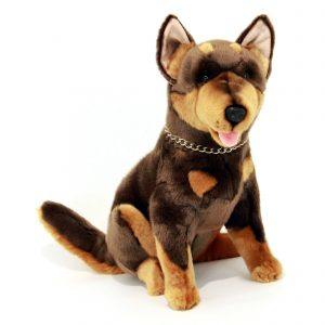Bocchetta-Cannon Australian Kelpie Realistic Stuffed Animal Soft Plush Toy