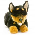 Bocchetta-Gadget Australian Kelpie Puppy Stuffed Animal Soft Plush Toy