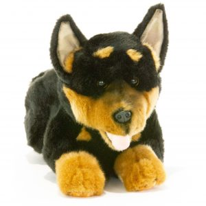 Bocchetta-Gadget Australian Kelpie Puppy Stuffed Animal Soft Plush Toy