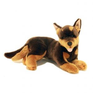 Bocchetta Parker Kelpie Stuffed Animal Soft Plush Toy, 34 cm Length x 24 cm Width x 20 cm Height