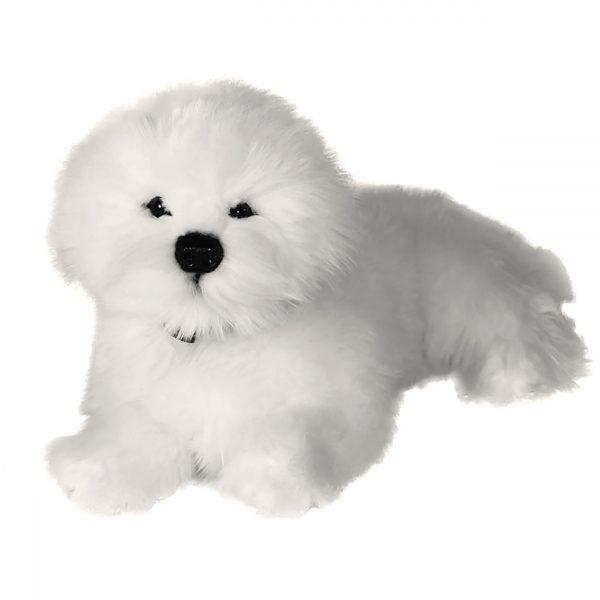 Bocchetta-Annabelle-Bichon Frise Realistic Stuffed Animal Soft Plush Toy