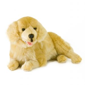 Bocchetta-Lucky Golden Retriever Stuffed Animal Soft Plush Toy
