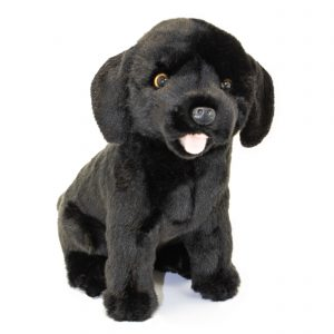 Bocchetta-Darth-Labrador Realistic Dog Stuffed Animal Soft Plush Toy