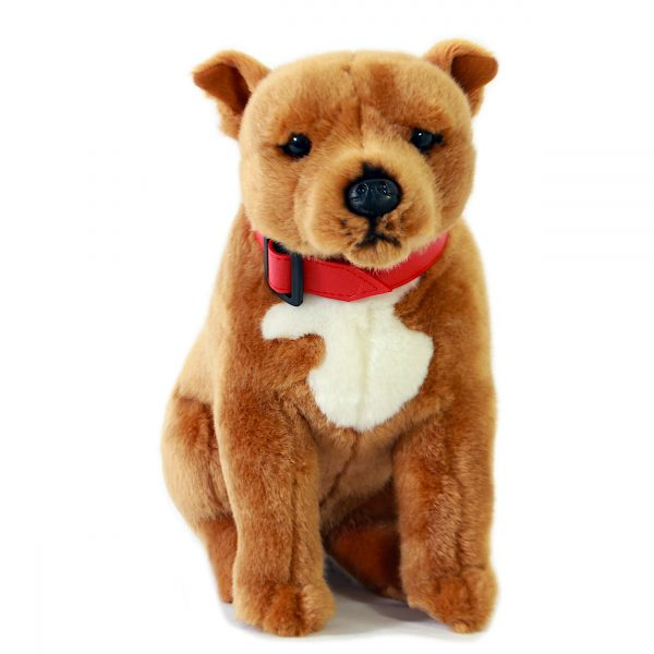 Bocchetta-Lester Staffy Staffordshire Terrier Stuffed Animal Soft Plush Toy