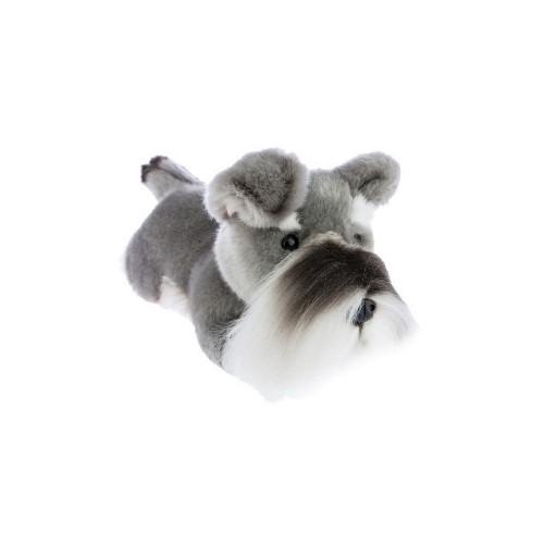 Bocchetta Scoobie Schnauzer Puppy Stuffed Animal Soft Plush Toy, 28 cm Height