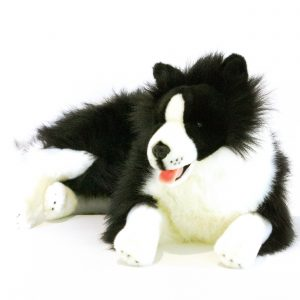 Bocchetta-Oscar Border Collie Stuffed Animal Soft Plush Toy