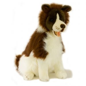 Bocchetta-Brandy-Border Collie Sheepdog Realistic Stuffed Animal Soft Plush Toy