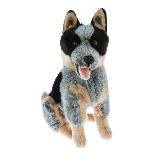 Bocchetta Rocky Cattle Dog Stuffed Animal Soft Plush Toy, 41 cm Height