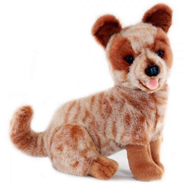 Bocchetta-Blaze-Heeler Cattle Dog Realistic Stuffed Animal Soft Plush Toy