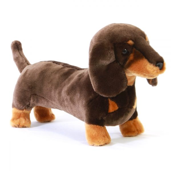 Bocchetta Stretch Dachshund Dog Stuffed Animal Soft Plush Toy