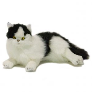 Bocchetta Woodrow Piebald Cat Stuffed Animal Soft Plush Toy
