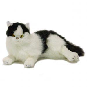 Bocchetta Woodrow Piebald Cat Stuffed Animal Soft Plush Toy