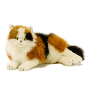 Bocchetta-Marmalade Calico Cat Stuffed Animal Soft Plush Toy