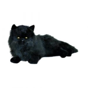 Bocchetta-Onyx Cat Stuffed Animal Soft Plush Toy