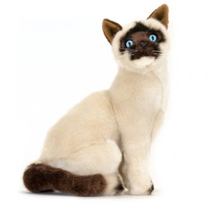 Bocchetta-Noodles Sealpoint Siamese Cat Stuffed Animal Soft Plush Toy