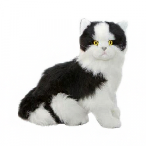Bocchetta-Angus-Cat Sitting Realistic Stuffed Animal Soft Plush Toy