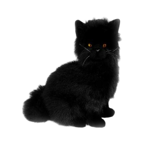Bocchetta-Crystal Black Cat Chantilly Stuffed Animal Soft Plush Toy