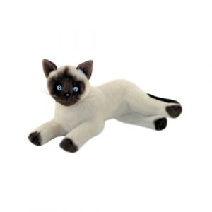 Bocchetta-Blossum Siamese Cat Stuffed Animal Soft Plush Toy