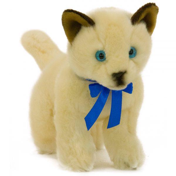 Bocchetta-Bamboo-Siamese Cat Realistic Stuffed Animal Soft Plush Toy