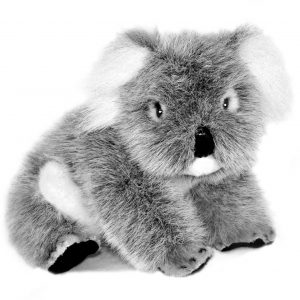 Bocchetta Sugar Koala Stuffed Animal Soft Plush Toy, 11 cm Height