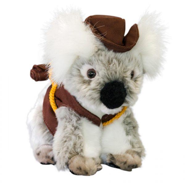 Bocchetta-Jack Koala with Hat Vest and Swag Stuffed Animal Soft Plush Toy