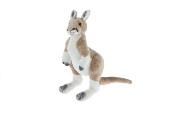 Bocchetta-Monty Kangaroo Lifelike Stuffed Animal Soft Plush Toy