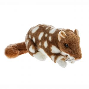 Bocchetta Spotty Eastern Quoll Stuffed Animal Soft Plush Toy, 22 cm Height, Fawn