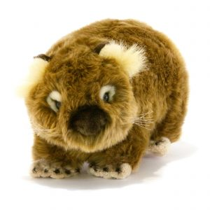 Bocchetta-Margherita Wombat Stuffed Animal Soft Plush Toy